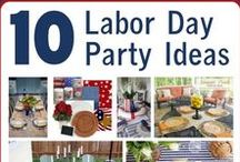 Celebrate USA! / Patriotic recipes and decor to celebrate the USA on 4th of July, Memorial Day, Labor Day, etc.