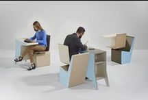 PROOFF #006 SideSeat / Focus for a minute. Wait. Make it useful. Together or by yourself. Get the most out of your time with less. PROOFF'S #006 SideSeat is a self-contained desk, cupboard and swivel chair, providing you one m2 of space to work, wait, read, call, train, concentrate. Find more information @ www.prooff.com