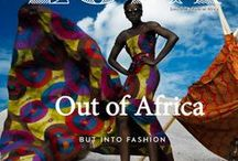 Afro Chic / Surrounding one's self with the patterns, fabrics and colours ..