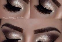 Makeup / Maquiagem / by Rosemeire Amaral Machado