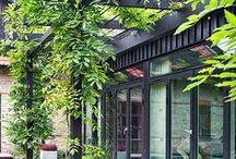 A l'ombre / Couvertures de terrasse, tonnelle, pergolas, toit de terrasse ...
