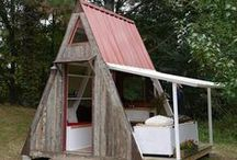 Cabanes pour enfants / cabanes de jardin pour enfants #chateau #jeux #cabanes #enfant