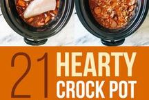Crock Stars / Crock Pot/Slow Cooker recipes and tips for all seasons! Save time and money!