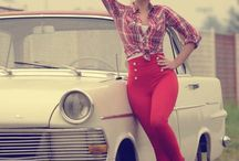 Beautiful women / Tall, slim, long legs, wide hips and shoulders....love pinup's