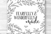 Fearfully & Wonderfully made / Recognising the power and sovereignty of God's Word in life
