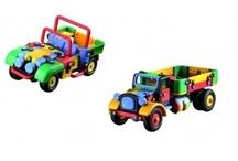 Jucarii de constructie / Jocurile de constructie ii ajuta pe copiii de orice varsta sa isi dezvolte imaginatia, creativitatea si motricitatea fina, reprezentand o modalitate captivanta de invatare.   Atunci cand le punem la dispozitie copiilor un joc cu ajutorul caruia trebuie sa construiasca un model anume, ei se vor obisnui sa urmareasca si sa inteleaga instructiunile si sa aiba in vedere atingerea unui anumit tel.  http://jocuriconstructie.ma-ra.ro