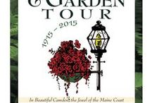 Camden House and Garden Tour / A House and Garden Tour that should not be missed.  The Tour is held every year on the 3rd Thursday in July.  New properties every year!  A fun and inspiring tour!