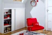 Focus : optimiser l'espace / Les petits espaces demande un peu de réflexion mais surtout les bonnes astuces en termes d'aménagements ! Découvrez nos propositions d'aménagements sous combles, de sous-escaliers et autres astuces pour optimiser l'espace chez vous !