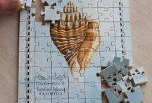 Florida Map Wood Puzzles / hand made, Florida souvenir puzzles
