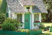 Cute Houses, Sheds, Barns
