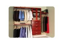 ~John Louis Home~ / 100% solid wood closet organizers
