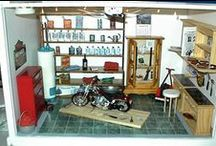 Miniature garages