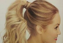 Ponytails / Get Inspired! Curly, smooth, high, or low, ponytails should be part of every long-haired beauty's styling repertoire. #HotOnBeauty