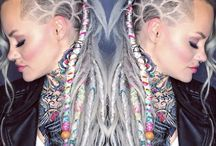 Braids and Dreadlocks / There are braids and then there are braids. For this board, we've assembled some of the coolest plaits on the planet! hotonbeauty.com