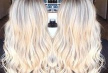 Blondes / Whether her hair is icy white or warm, buttery blonde, this most sought-after hair color in the world quickens pulses and causes a stir...in a good way, of course! #HotOnBeauty #Blondes