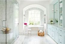 Bathroom design trends / From large and luxurious to small and functional - bathrooms can be all that and more. Check out some of the newest trends influencing the designs, the look and the feel of that oh-so-important space in every home.