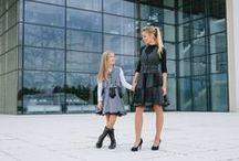 Elegant - autumn/winter 2014/15 - style in silver / Czas na szarości! Uzupełniając kreacje wyjątkowymi dodatkami będziesz wyglądać olśniewająco.  #tamaniera #odzież #polskaodzież #moda #namiarę #projektowanie #szycienamiare #jesień #zima #fashion