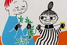 Little Me & Snufkin / リトルミーとスナフキン