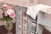Shabby Chic / Shabby Chic for any room in the house, and outdoors. / by Deborah Ann