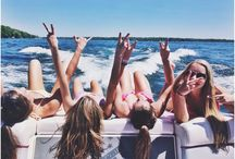 Summer feels ☀️ / Ocean breeze, palm trees, Salty hair, sun kissed hair, that endless summer, take me there ☀️