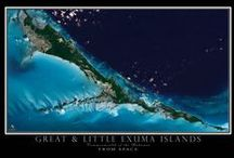 THE BAHAMAS FROM SPACE / The absolute most amazing collection of Bahamas satellite imagery anywhere.  If this doesn't make you want to pack your bags and go, nothing will....