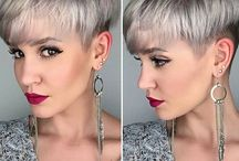 Short Hair Bobs and Pixie Haircuts / Less is more! Short, sweet and often daring, short-haired gals are rocking pixies, crops, clipper cuts and barely there styles.