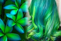 Hair Color and Hairstyle Inspirations / Like fine art, hair color and hairstyle inspirations can be found in nature, in textiles, and even fairy tales!