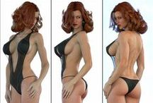 """3D"" / Le dessin 3D"