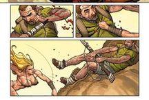 """Planches"" / Extraits d'œuvres (BD, Comics, Manga)"