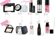 SPLURGE VS BUDGET DUPES / Luxury makeup and fashion items find their budget dupes.