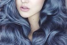 BLUE HAIR / The best inspirational blue hair photographs. Featuring light blue hair, pastel candy blue hair, bright neon hair, galaxy colored hairstyles, ombre blue hair,  scene girl blue hair - blue hair tips- blue hair spray - blue hair color - blue hair dye - blue hair anime girl - blue hair extensions - blue hair pinterest - blue hair trends -