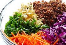 Vegan - saláty