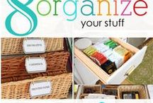 organizational aspirations / ideas for organizing my home and my life / by Nancy Harvey