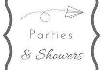 parties and showers