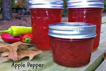 Dips, Dressing, Sauces, Etc. / Salsa, salad dressings, sauces, jams, jellies, and more / by Toni Patton