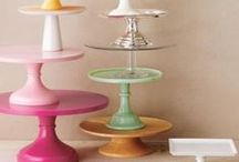 Cake Stands / Fabulous ideas to serve and display food, beverages, and anything else I can think of. / by Amy Lewis