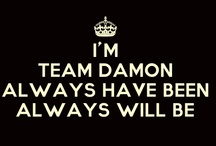 Mystic Falls / Team Damon, baby! / by Lindsey Derrick