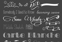 Fonts / by addapinch | Robyn Stone