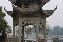 Pagodas... / by Theresa Cheek-Arts The Answer
