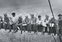 Ironworkers (sky walkers) / Iron workers! This board is dedicated to my pappy who spent most of his life up until retirement as an iron worker :-) Local 489
