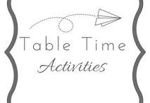 Table Time Activites