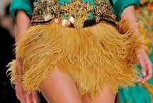 Trend: Tassels & Fringe / The fashion runways were exploding with tassels and fringe for Spring/Summer 2014. From shoes, handbags to jewelry, anything goes with this easy embellishment to turn ordinary into extraordinary.