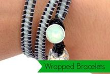 DIY Bracelets / Beading tutorials to make your own fashion jewelry made with Beadalon.