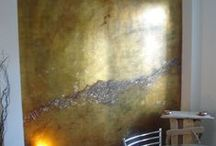 Plaster/Texture / venetian and other plasters for walls, etc / by Theresa Cheek-Arts The Answer