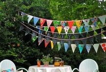 {Party} Garlands & Banners / Garlands and banners / by Amy Lewis