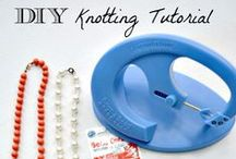"""Let's get """"Knotty""""! / Beadalon beading products and design inspiration for knotted jewelry designs."""