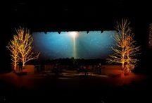 Worship Space / Set design, sanctuary design, platform/stage design  / by Caitlin Porter
