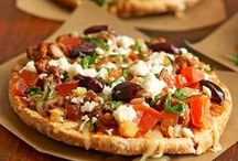 Pizzas and Flatbreads / Pizza & Flatbreads / by Amy Lewis