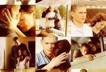 Michael and Sara / MiSa. Michael Scofield and Sara Tencredi. One of the best tv couples in tvshow history!