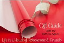 Gift Guide - Birth to Age 9 / Gifts for the wee ones!